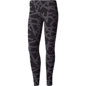 ADIDAS Gray Black Activewear Leggings